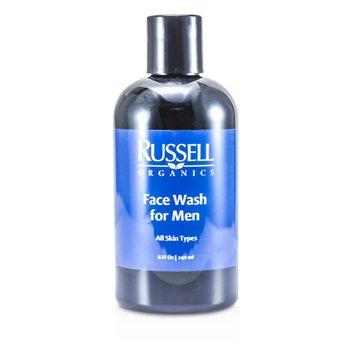 Russell Organics غسول الوجه للرجال  240ml/8oz