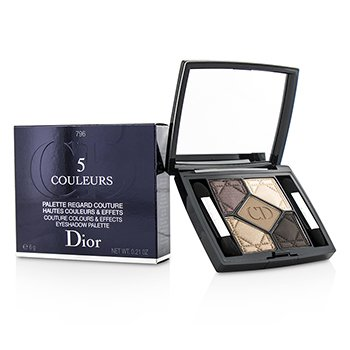 Christian Dior 5 Couleurs Couture Colours & Effects Eyeshadow Palette - No. 796 Cuir Cannage  6g/0.21oz