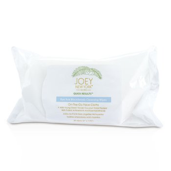 Joey New York Quick Results Adiós Puntos Negros Toallitas Limpiadoras  30wipes
