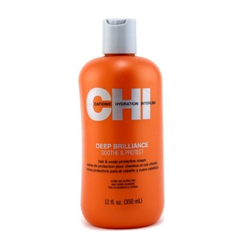 CHI Deep Brilliance Soothe & Protect Hair & Scalp Protective Cream  350ml/12oz