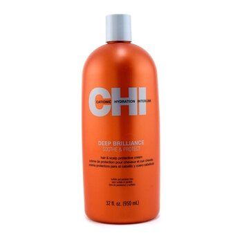 CHI Creme Protetor Deep Brilliance Soothe & Protect Hair & Scalp  950ml/32oz