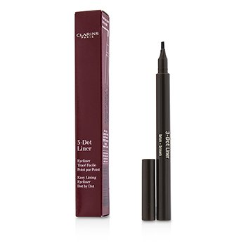 Clarins 3 Dot Liner - # Brown  0.7ml/0.023oz