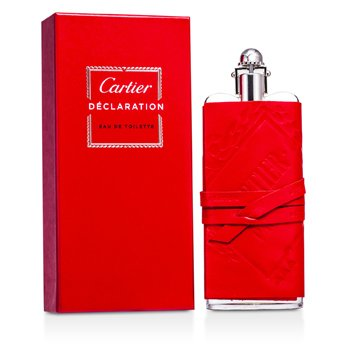 Cartier Declaration Eau De Toilette Spray (Funda de Cuero/Edici�n Prestige)  100ml/3.3oz