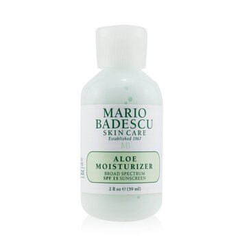 Mario Badescu Aloe Moisturizer SPF 15 - For Combination/ Oily/ Sensitive Skin Types  59ml/2oz