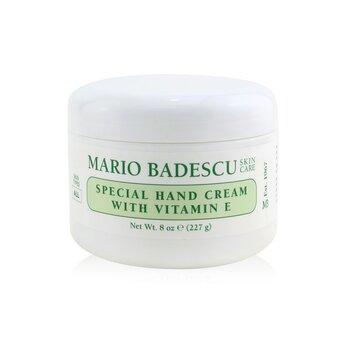 Mario Badescu Special Hand Cream with Vitamin E - For All Skin Types  236ml/8oz