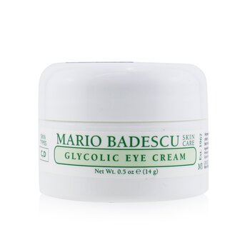 Mario Badescu Glycolic Eye Cream - For Combination/ Dry Skin Types  14ml/0.5oz