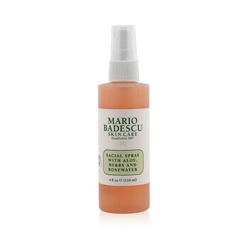 Mario Badescu Facial Spray with Aloe, Herbs & Rosewater  118ml/4oz