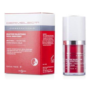 Dermelect Beautone Enlightening Facial Brightener Serum  14.8ml/0.5oz