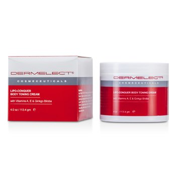 Dermelect Lipo-Conquer Body Toning Cream  113.4g/4oz