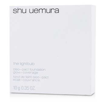 Shu Uemura The Lightbulb Oleo pact Base (Estuche + Repuesto) - # 764 Medium Light Beige  10g/0.35oz