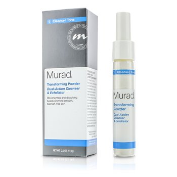 Murad Transforming Powder Dual-Action Cleanser & Exfoliator  14g/0.5oz