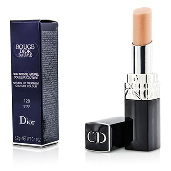 Christian Dior Rouge Dior Baume Tratamiento de Labios Natural Color Couture - # 128 Star  3.2g/0.11oz