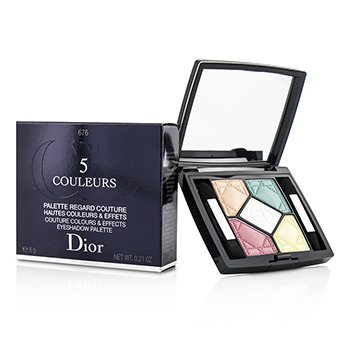 Christian Dior Paleta de Sombra 5 Cores Couture Colours & Effects - No. 676 Candy Choc  6g/0.21oz