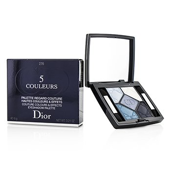 Christian Dior 5 Couleurs Couture Colours & Effects Eyeshadow Palette - No. 276 Carre Bleu  6g/0.21oz