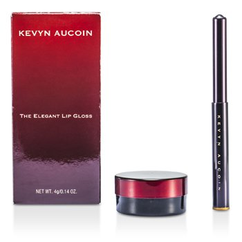 Kevyn Aucoin The Elegant Lip Gloss With Applicator - # Cloudaine (Baby Pink)  4g/0.14oz