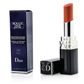 Christian Dior Rouge Dior Baume Natural Lip Treatment Couture Colour - # 640 Milly  3.2g/0.11oz