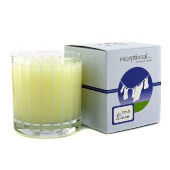 Exceptional Parfums Świeca zapachowa Fragrance Candle - Fresh Linen (świeża pościel)  227g/8oz
