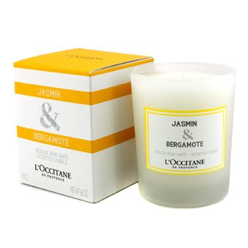 L'Occitane Świeca zapachowa Jasmin & Bergamote Scented Candle (jaśmin i bergamotka)  190g/6.6oz