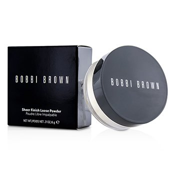 Bobbi Brown Sheer Finish Loose Powder - Bedak Bubuk - # 07 White (Kemasan Baru)  6g/0.21oz