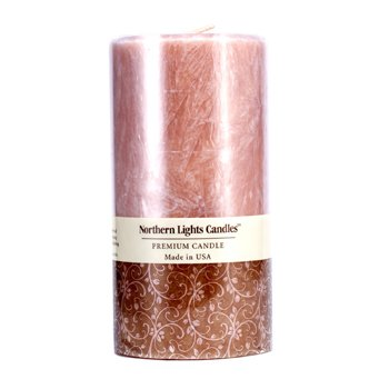Northern Lights Candles Εξαιρετικό Κερί - Sandalwood Spice  (3x6) inch