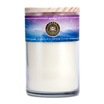 Terra Essential Scents Massage & Intention Candle - Energy  12oz