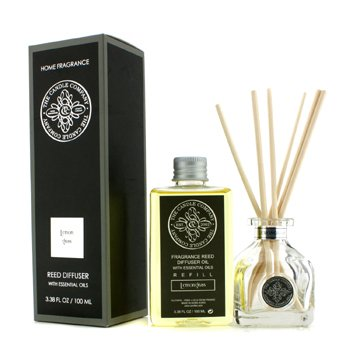 The Candle Company Reed Diffuser with Essential Oils - Lemongrass  100ml/3.38oz