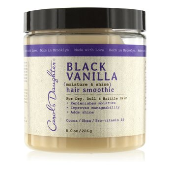 Carol's Daughter Black Vanilla Moisture & Shine Hair Smoothie (For Dry, Dull & Brittle Hair)  226g/8oz