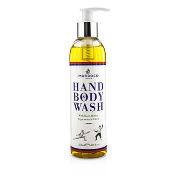 Murdock Original Hand & Body Wash - Pembersih Tangan & Tubuh  250ml/8.8oz