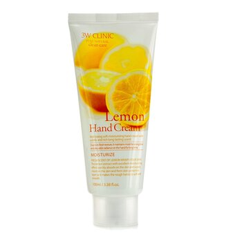 3W Clinic Crema de Manos - Lemon  100ml/3.38oz