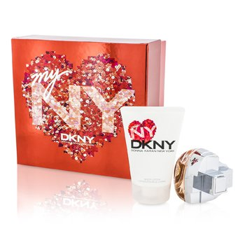 DKNY My NY The Heart Of The City Coffret: Eau De Parfum Spray - Tuoksu 50ml/1.7oz + Kosteusvoide 100ml/3.4oz  2pcs