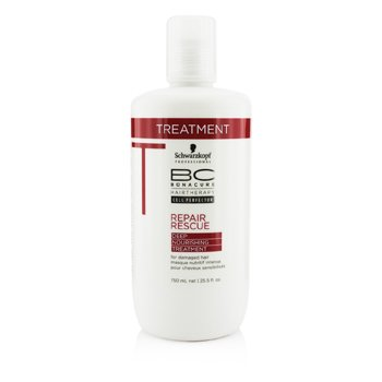Schwarzkopf BC Repair Rescue Deep Nourishing Treatment (For Damaged Hair)  750ml/25.5oz
