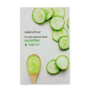 Innisfree It's Real Squeeze Mască - Cucumber  10pcs