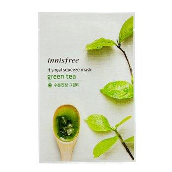 Innisfree It's Real Squeeze Mask - Green Tea  10pcs