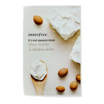 Innisfree It's Real Squeeze Mask - Shea Butter  10pcs