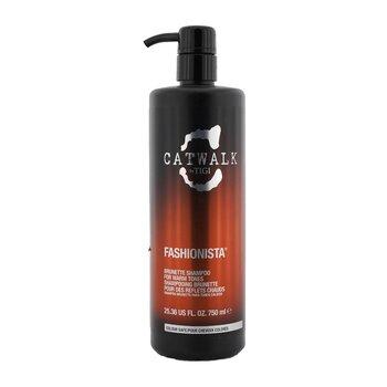 Tigi Shampoo Fashionista Brunette Catwalk (Para Tons Quentes)  750ml/25.36oz