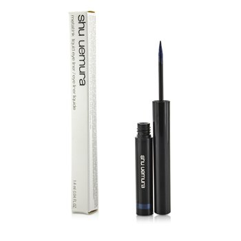 Shu Uemura Metal Ink Liquid Eye Liner - #Me Navy  1.4ml/0.04oz