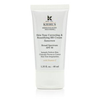 Kiehl's Skin Tone Correcting & Beautifying BB Cream SPF 50 - # Light  40ml/1.35oz