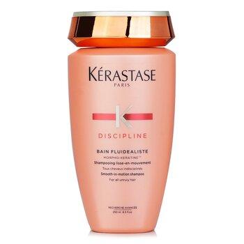 เคเรสตาส แชมพู Discipline Bain Fluidealiste Smooth-In-Motion Shampoo (สำหรับผมจัดทรงยาก)  250ml/8.5oz