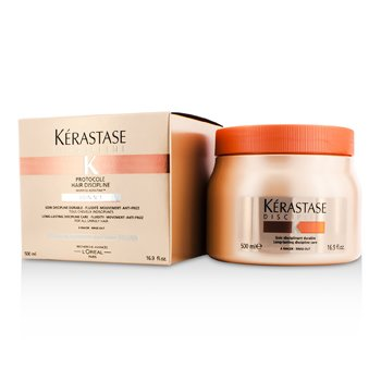 Kerastase Discipline Protocole Hair Discipline Soin N1 Long-Lasting Discipline Care (For All Unruly Hair)  500ml/16.9oz