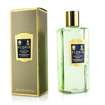 Floris Lily Of The Valley Moisturising Bath & Shower Gel  250ml/8.5oz