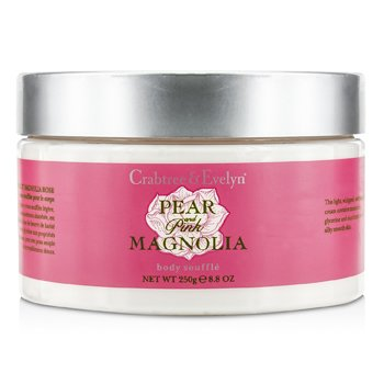 Crabtree & Evelyn Pear & Pink Magnolia Body Souffle  250g/8.8oz