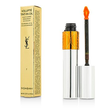 Yves Saint Laurent Volupte Tint In Oil - #07 Crush Me Orange  6ml/0.2oz