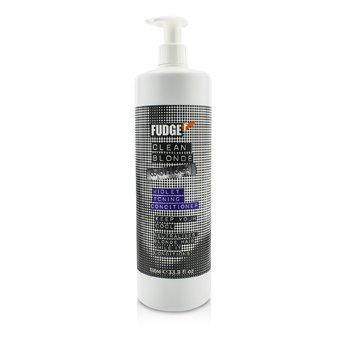 Fudge Clean Blonde Balsam Tonifiant Violet (Neutralizează Părul Blond)  1000ml/33.8oz