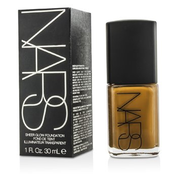 NARS Base Sheer Glow - New Guinea (Med/Dark 5 - Dark with red undertone)  30ml/1oz