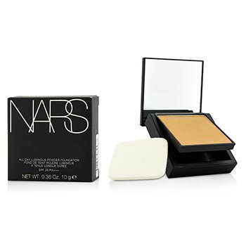 NARS All Day Base en Polvo Luminosa Con SPF25 - Santa Fe (Medium 2 Medio con tonos durazno)  12g/0.42oz