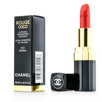 Chanel Batom Rouge Coco Ultra Hydrating - # 412 Teheran  3.5g/0.12oz