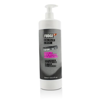 Fudge Colour Lock Conditioner (For Lasting Vibrancy & Colour Happy Hair)  1000ml/33.8oz
