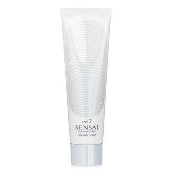 Kanebo Sensai Silky Purifying Creamy Soap (New Packaging)  125ml/4.3oz