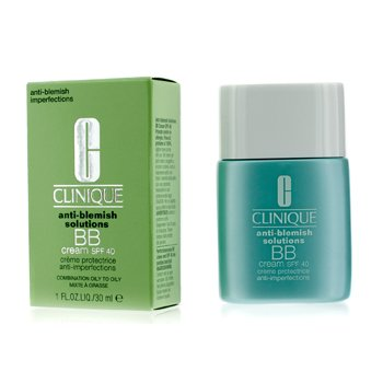 Clinique Anti-Blemish Solutions BB Cream SPF 40 - Krim BB - Medium Deep (Kombinasi Berminyak ke Berminyak)  30ml/1oz