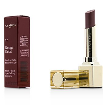 Clarins Szminka do ust Rouge Eclat Satin Finish Age Defying Lipstick - # 17 Pink Magnolia  3g/0.1oz